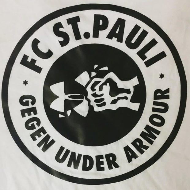 St Pauli Fans gegen Under Armour