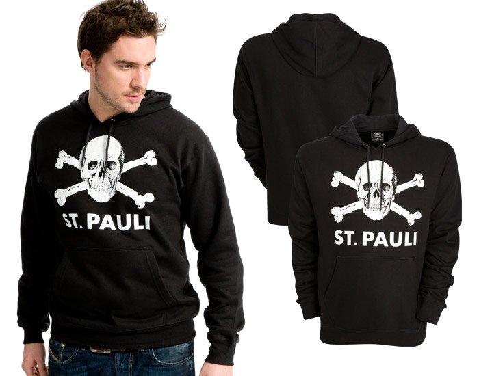 ST. PAULI Hoodie schwarz