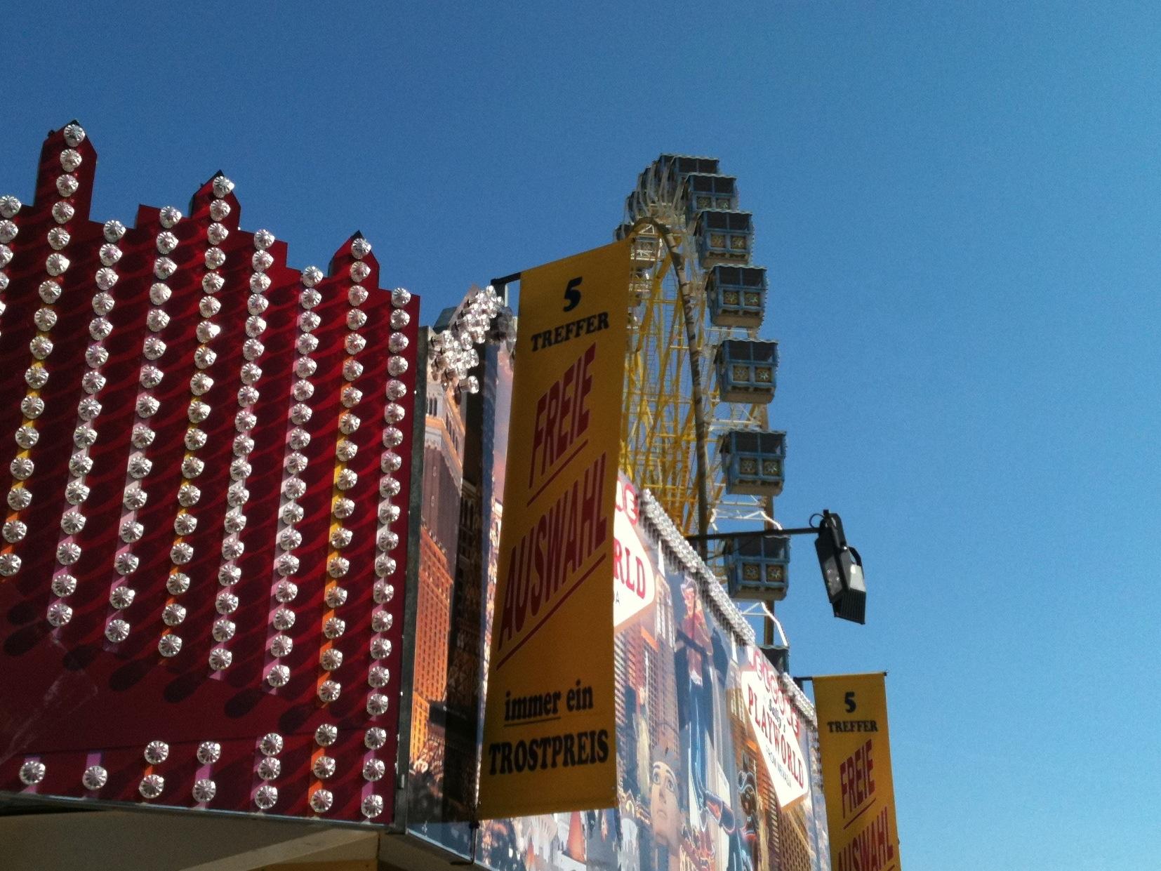 Riesenrad Foto - Hamburger DOM