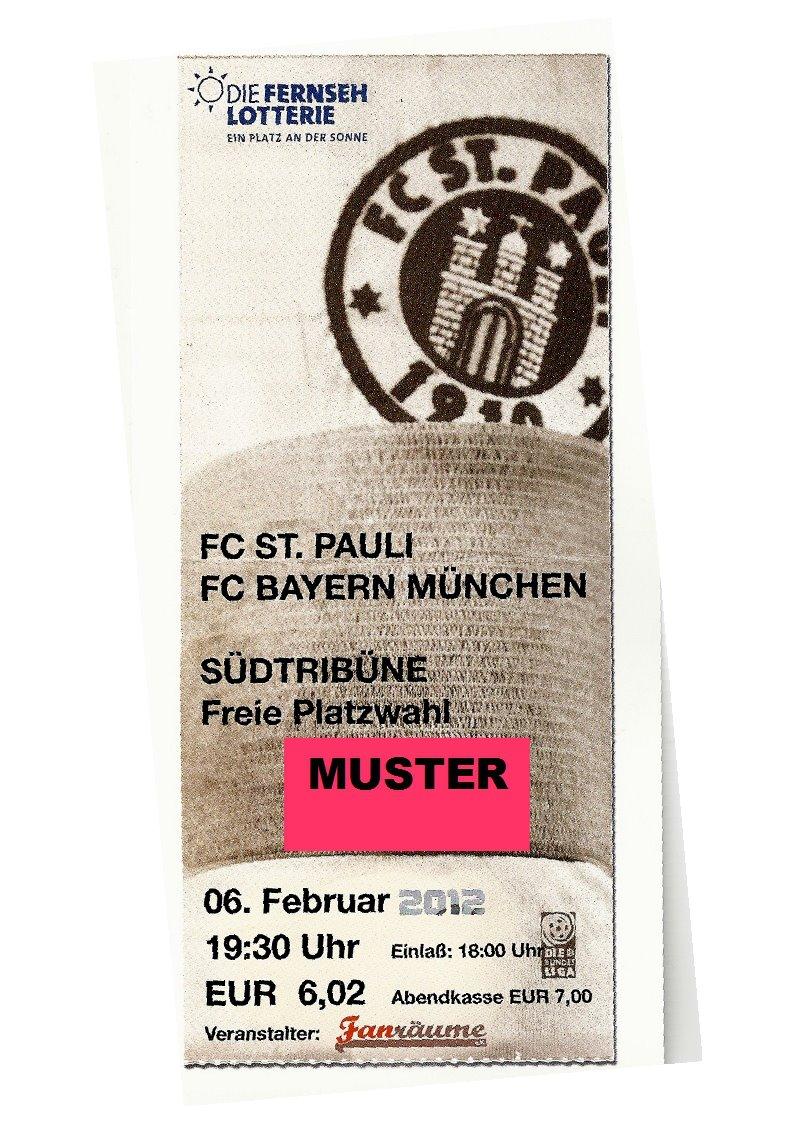 FC St. Pauli Ticket Tauschbörse