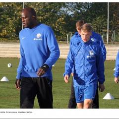 Morike Sako - Probetraining bei Hansa Rostock (Screenshot: FC Hansa Rostock)