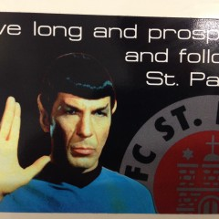 Sticker FC St. Pauli Spock Enterprise