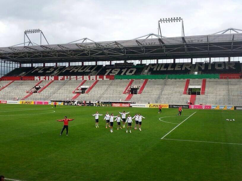 DFB Nationalmannschaft trainiert in Hamburg