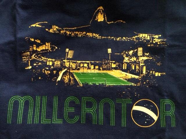 WM T-Shirt Brasilien St. Pauli Millerntor, baretta