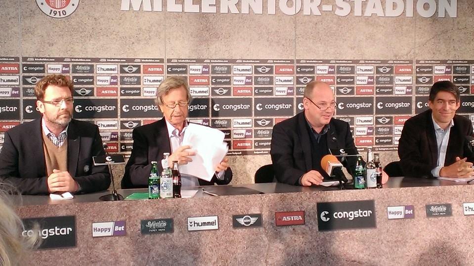 Bilanz 2013/14 – Knapp zwei Millionen Überschuss – Gutes finanzielles Ergebnis für den FC St. Pauli