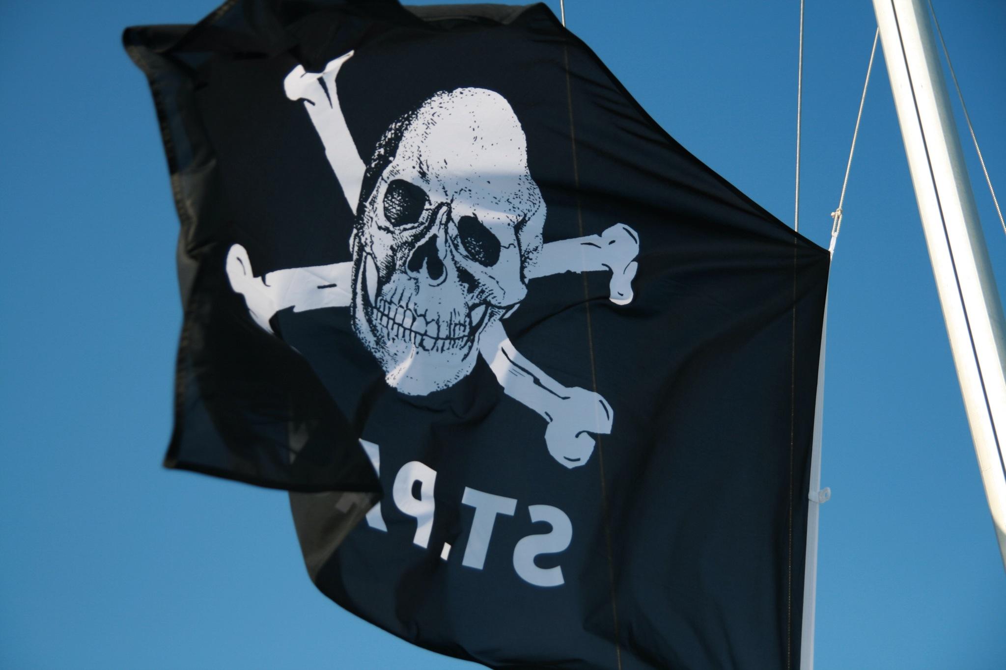Die Nord zeigt Flagge