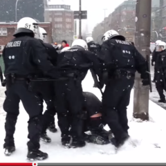 Polizei Gewalt Demo Hamburg Youtube