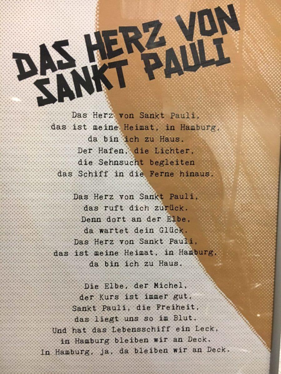 """Songtext fürs Mitsingen am Millerntor: """"Das Herz von St. Pauli"""""""