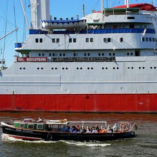 Cap San Diego, Hamburger Hafen - St. Pauli Landungsbrücken. Foto: HH St. Georg.info, via Flickr, CC-by-nc