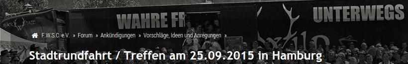 Frei.Wild Supporter planen Hafenrundfahrt zum Konzert auf St. Pauli