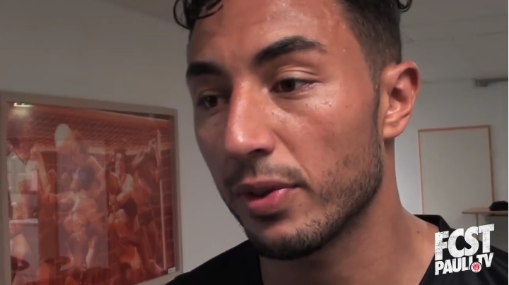 Aziz Bouhaddouz, Interview FC St. Pauli TV