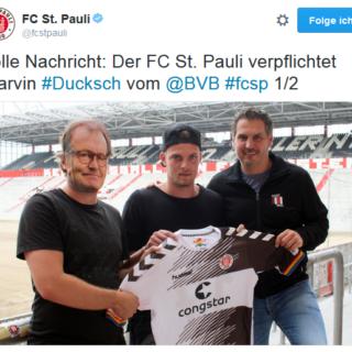 FC St. Pauli Neuzugang Marvin Duksch