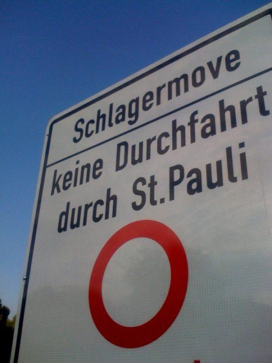 Schlagermove Hamburg St. Pauli