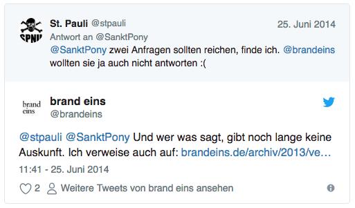 brand eins - st pauli - hummel - twitter