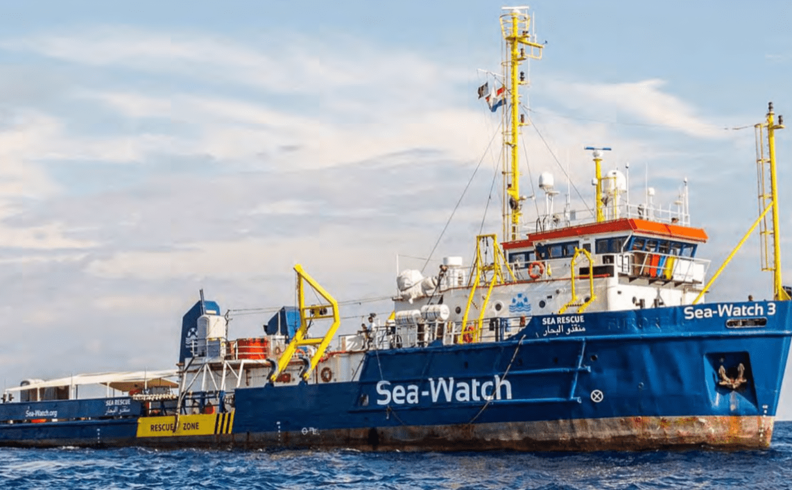Sea Watch Rettungsschiff. Foto: Sea Watch